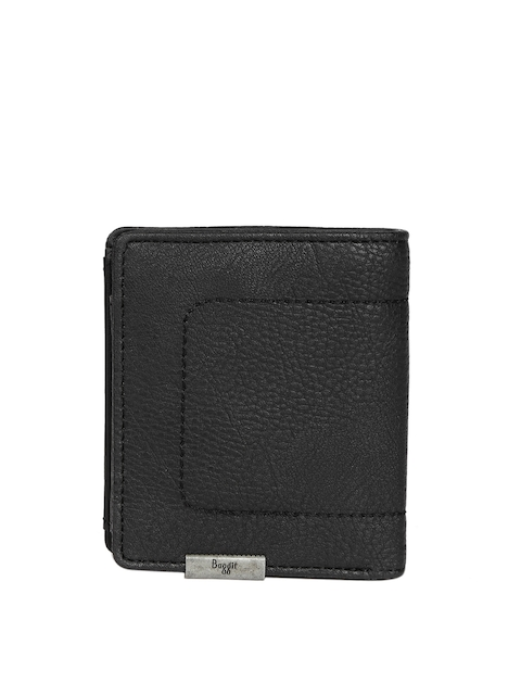 Baggit Men Black Solid Wallet