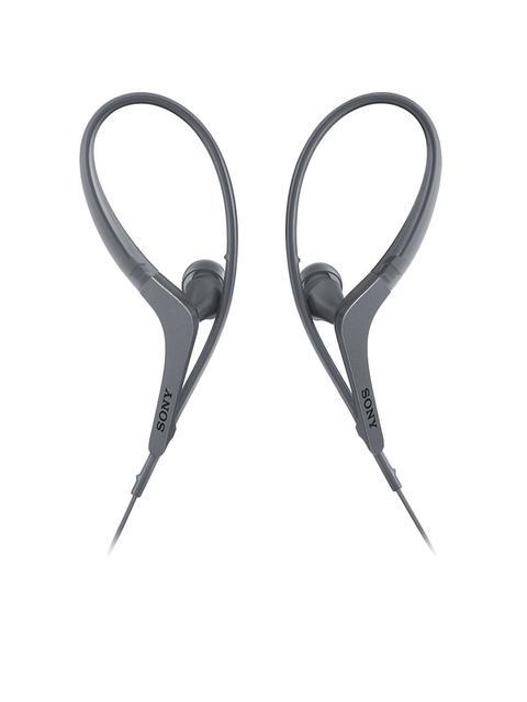Sony Grey In-ear Sport Headphones with Mic MDRAS410APBQIN