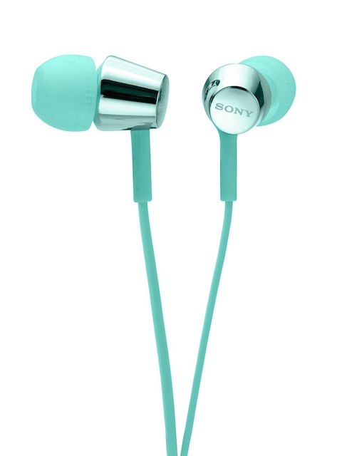 Sony Blue In-ear Stereo Headphones MDR-EX155/LQIN