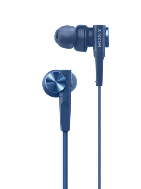 Sony Blue EXTRA BASS In-Ear Headphones MDRXB55AP