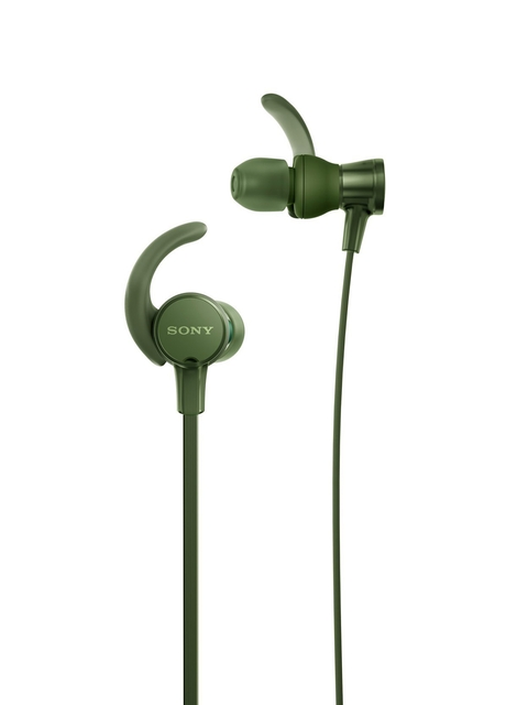 Sony Green In-Ear Headphones With Mic MDRXB510ASBQIN