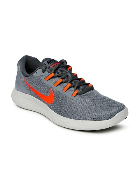 Nike Men Grey LUNARCONVERGE Running Shoes