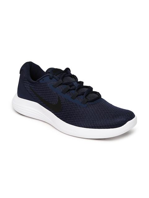 Nike Men Navy LUNARCONVERGE Running Shoes