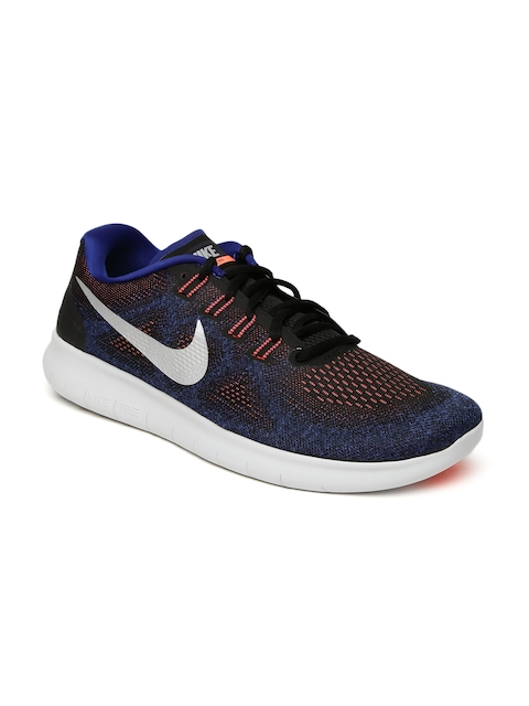 Nike Men Blue FREE RN 2017 Running Shoes