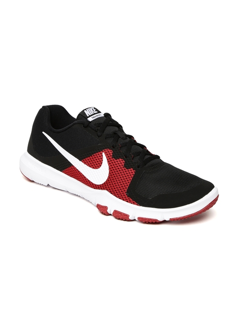 Nike Men Black & Red FLEX CONTROL Training Shoes