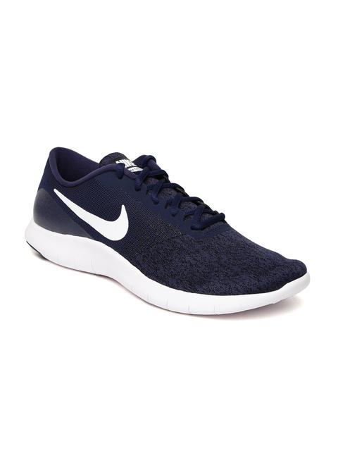 Nike Men Navy Blue FLEX CONTACT Running Shoes