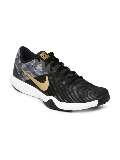 Nike Men Black & Grey RETALIATION Training Shoes