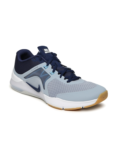 Nike Men Grey & Navy ZOOM TRAIN COMPLETE 2 Training Shoes