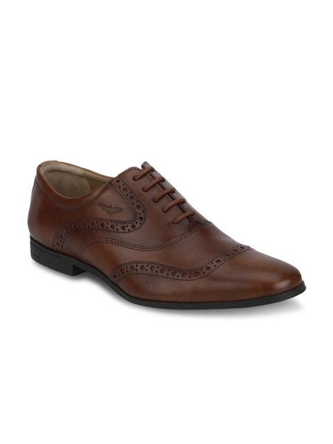 Park Avenue Men Brown Leather Brogues
