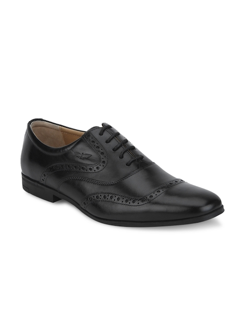 Park Avenue Men Black Leather Brogues