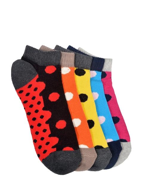 MARC Women Pack of 5 Ankle-Length Socks