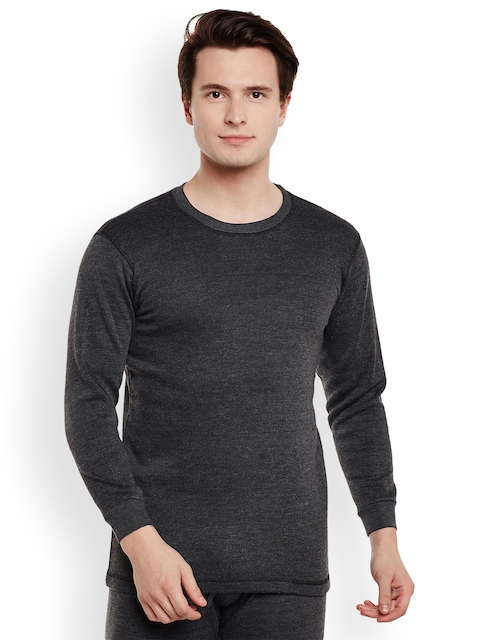 VIMAL Charcoal Grey Thermal T-shirt