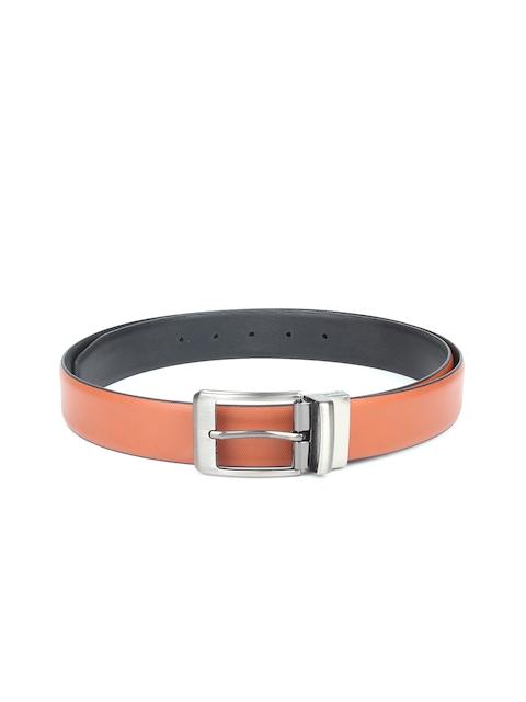 CHISEL Men Tan Brown Solid Belt