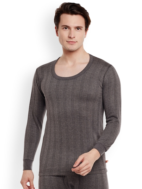 VIMAL Charcoal Taupe Thermal T-shirt