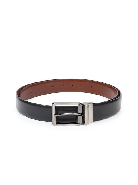 CHISEL Men Black & Brown Solid Belt