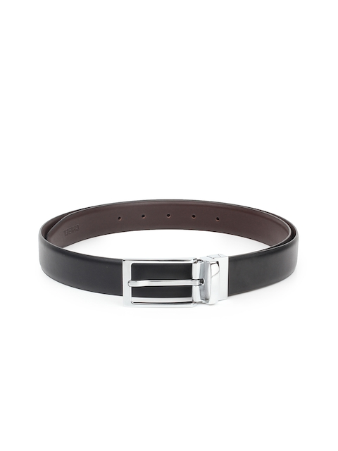 CHISEL Men Black & Brown Solid Belt