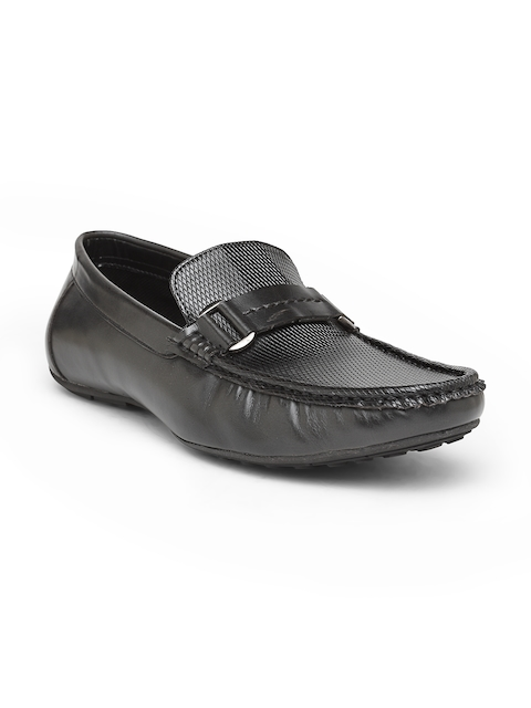 San Frissco Men Black Loafers