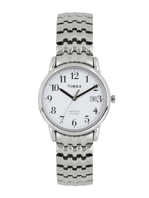 Timex Men White Analogue Watch T2P294