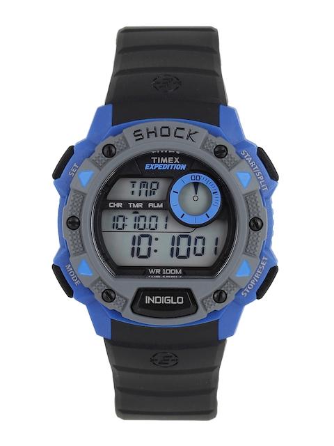 Timex Men Black Digital Watch TW4B00700