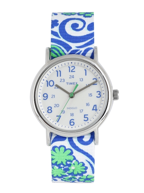 Timex Women White Analogue Watch TW2P90300