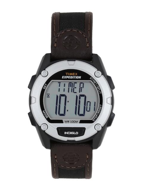 Timex Men Brown Digital Watch T49948