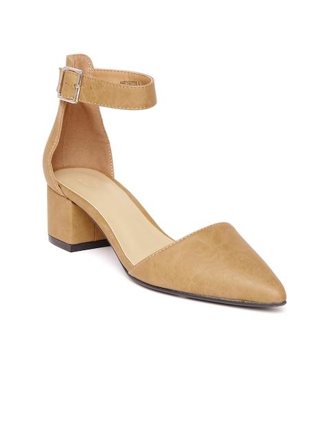 Allen Solly Women Brown Heels