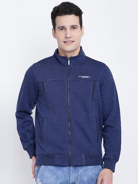 Monte Carlo Men Blue Solid Sweatshirt