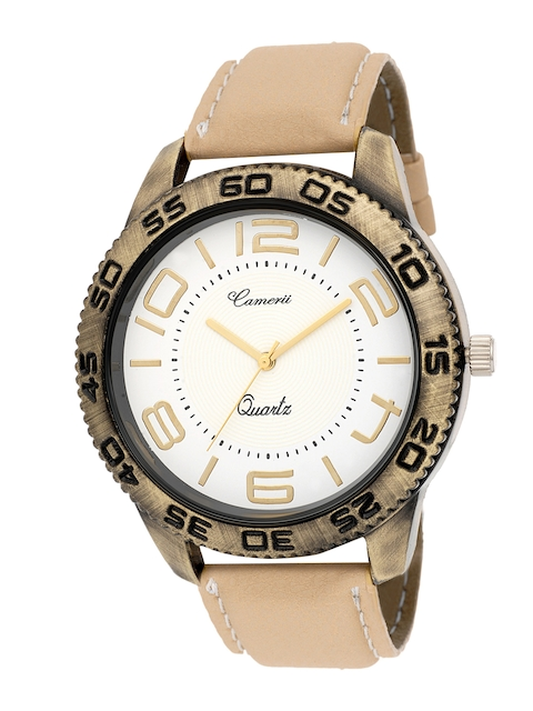 Camerii Men White Analogue Watch WM135