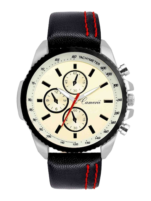 Camerii Men Cream-Coloured Analogue Watch WM234