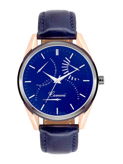 Camerii Men Blue Analogue Watch WM243