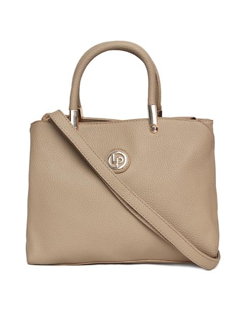 Lisa Haydon for Lino Perros Beige Solid Handbag