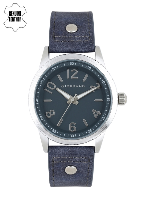 GIORDANO Men Teal Blue Analogue Watch A1053-02