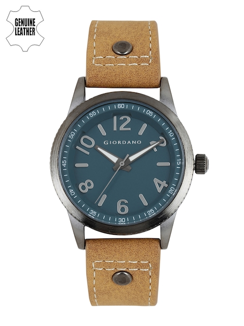 GIORDANO Men Teal Analogue Watch A1053-09