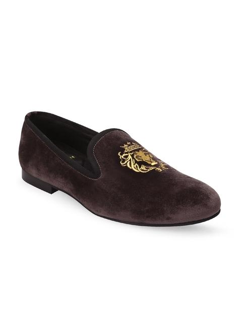 BARESKIN Men Brown Loafers