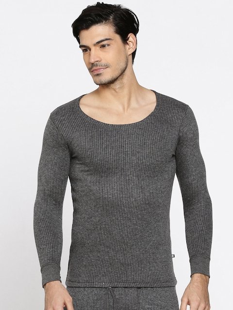 Hanes Grey Thermal T-Shirt