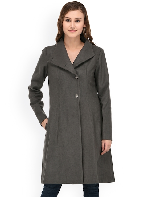 Owncraft Grey Longline Overcoat