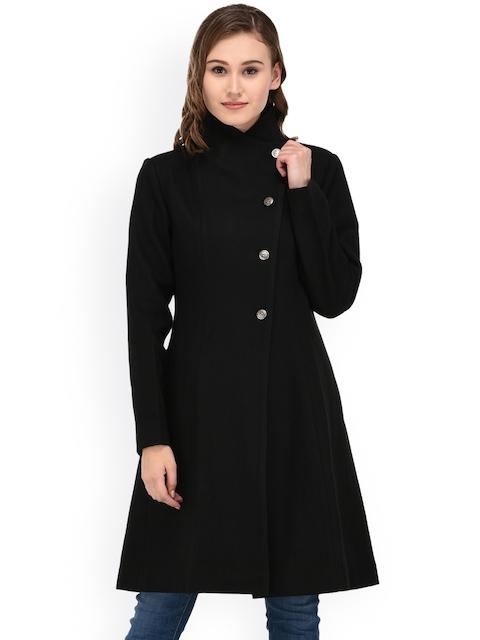 Owncraft Black Longline Overcoat