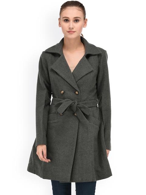 Owncraft Grey Longline Pea Coat