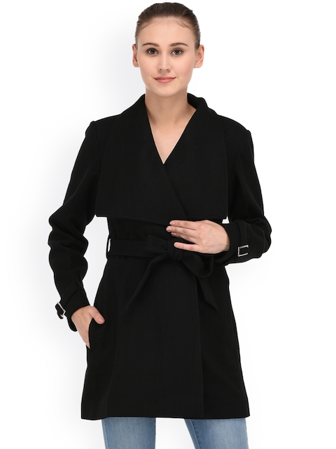 Owncraft Black Wrap Coat