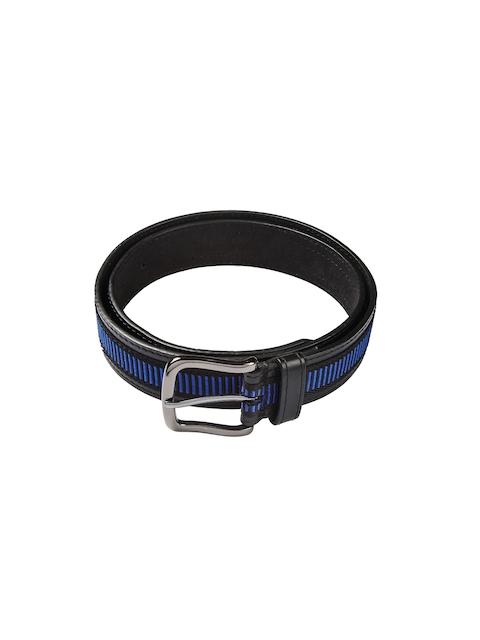 HAMILTON Men Black & Blue Belt