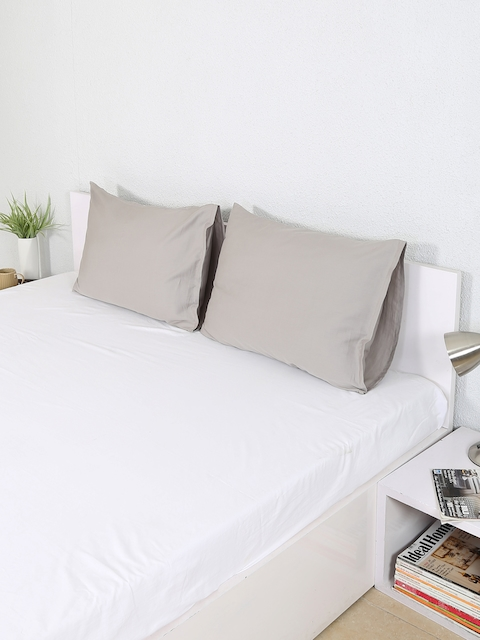 House This Set of 2 Grey 19x 27 Rectangular Pillow Covers