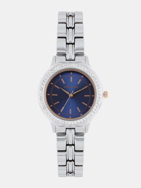ANNE KLEIN Women Navy Swarovski Analogue Watch AK2451NVRT
