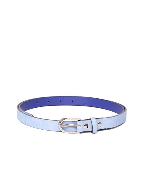 Blueberry Women Blue Solid Belt