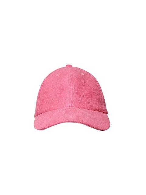 Blueberry Women Pink Printed Cap