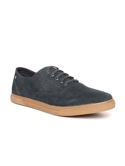 Allen Solly Men Navy Suede Sneakers