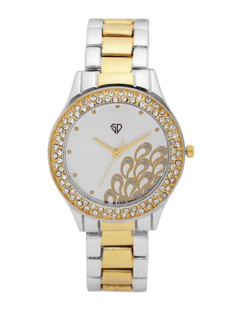 Swiss Design Women Silver-Toned Analogue Watch 246-SL