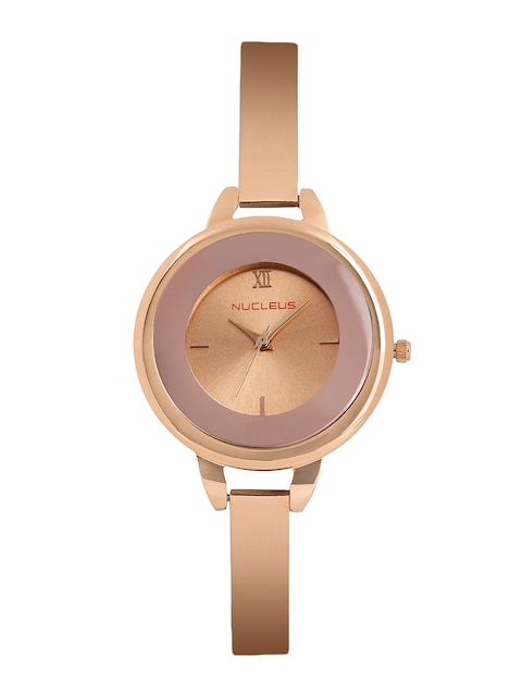 Nucleus Women Rose Gold-Toned Analogue Watch NTLRGMRG
