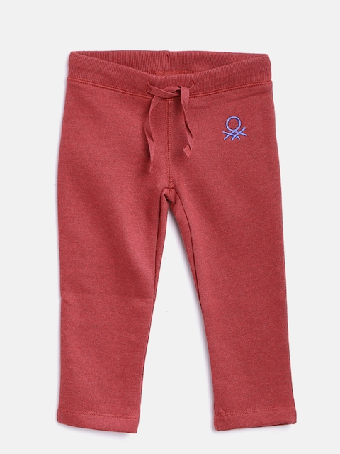 United Colors of Benetton Girls Red Track Pants