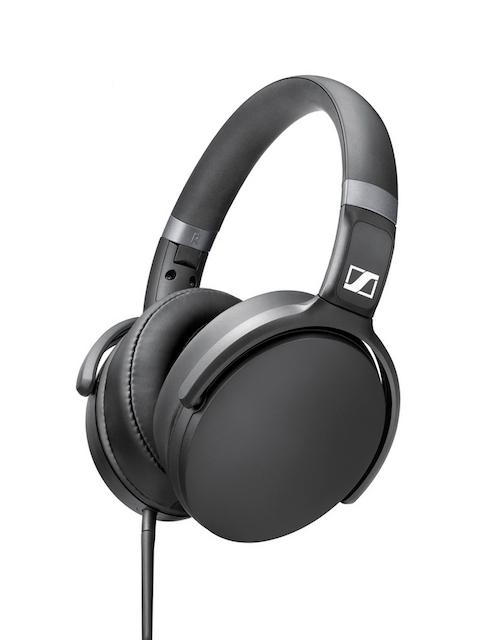 Sennheiser Black HD 4.30G Foldable Headphones with Mic