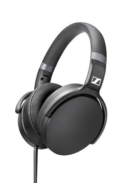 Sennheiser Black HD 4.30I Foldable Headphones with Mic